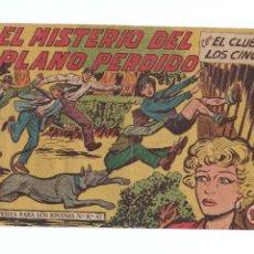 Tebeos: EL CLUB DE LOS CINCO Nº36 -ORIGINAL. Lote 276935153