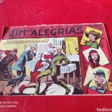 Tebeos: JIM ALEGRÍAS, DESENMASCARADOS N⁰34. Lote 276954538