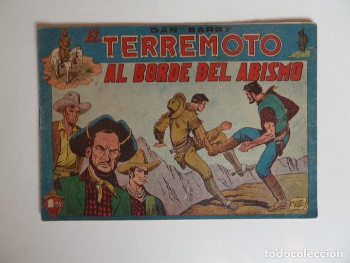 Tebeos: Dan Barry el terremoto, colección completa, suelta, 76 ejemplares de José Ortiz, Maga 1954. - Foto 4 - 277152988