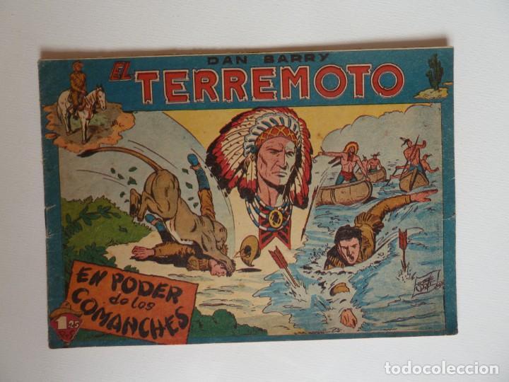 DAN BARRY EL TERREMOTO, COLECCIÓN COMPLETA, SUELTA, 76 EJEMPLARES DE JOSÉ ORTIZ, MAGA 1954. (Tebeos y Comics - Maga - Dan Barry)