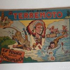 Tebeos: DAN BARRY EL TERREMOTO, COLECCIÓN COMPLETA, SUELTA, 76 EJEMPLARES DE JOSÉ ORTIZ, MAGA 1954.. Lote 277152988
