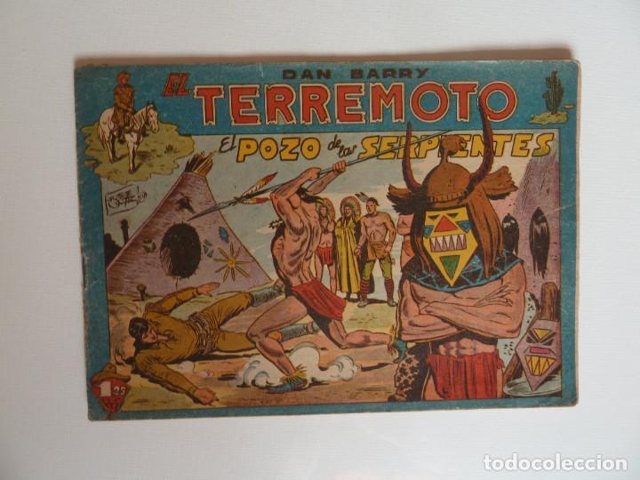 Tebeos: Dan Barry el terremoto, colección completa, suelta, 76 ejemplares de José Ortiz, Maga 1954. - Foto 7 - 277152988