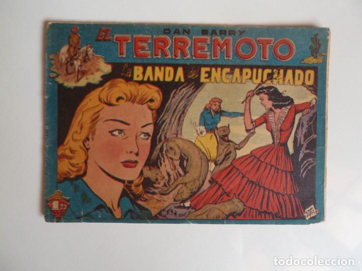 Tebeos: Dan Barry el terremoto, colección completa, suelta, 76 ejemplares de José Ortiz, Maga 1954. - Foto 11 - 277152988