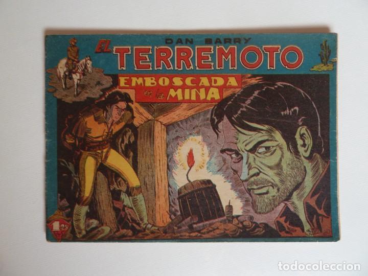 Tebeos: Dan Barry el terremoto, colección completa, suelta, 76 ejemplares de José Ortiz, Maga 1954. - Foto 13 - 277152988