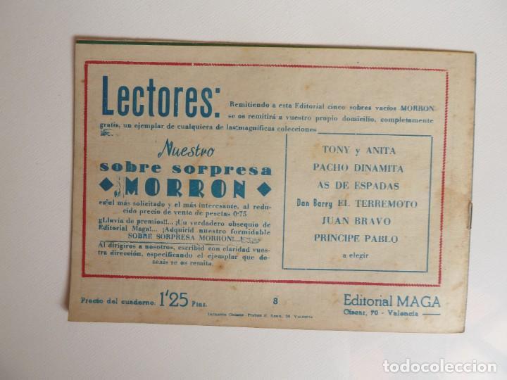 Tebeos: Dan Barry el terremoto, colección completa, suelta, 76 ejemplares de José Ortiz, Maga 1954. - Foto 16 - 277152988