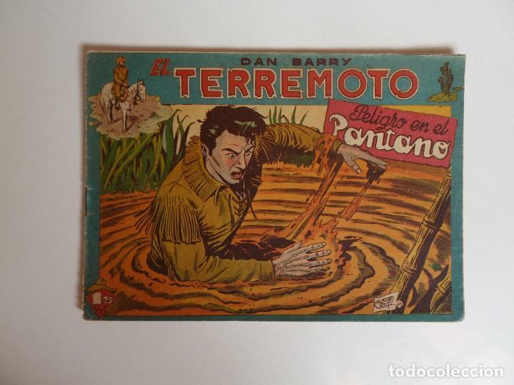 Tebeos: Dan Barry el terremoto, colección completa, suelta, 76 ejemplares de José Ortiz, Maga 1954. - Foto 17 - 277152988