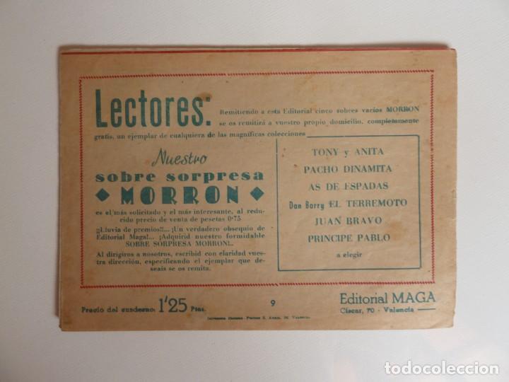 Tebeos: Dan Barry el terremoto, colección completa, suelta, 76 ejemplares de José Ortiz, Maga 1954. - Foto 18 - 277152988