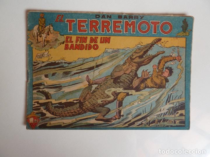 Tebeos: Dan Barry el terremoto, colección completa, suelta, 76 ejemplares de José Ortiz, Maga 1954. - Foto 19 - 277152988