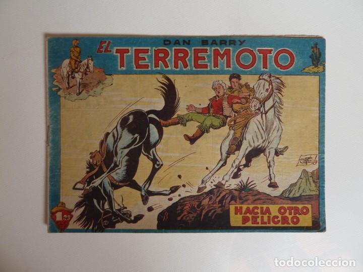 Tebeos: Dan Barry el terremoto, colección completa, suelta, 76 ejemplares de José Ortiz, Maga 1954. - Foto 21 - 277152988