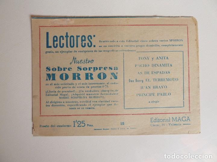 Tebeos: Dan Barry el terremoto, colección completa, suelta, 76 ejemplares de José Ortiz, Maga 1954. - Foto 24 - 277152988