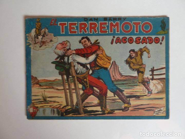 Tebeos: Dan Barry el terremoto, colección completa, suelta, 76 ejemplares de José Ortiz, Maga 1954. - Foto 25 - 277152988