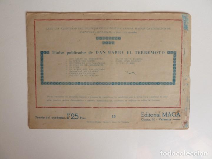Tebeos: Dan Barry el terremoto, colección completa, suelta, 76 ejemplares de José Ortiz, Maga 1954. - Foto 26 - 277152988