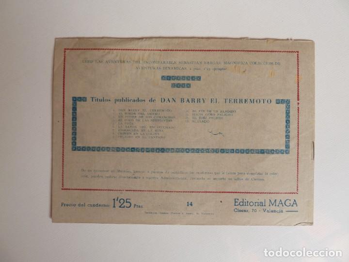 Tebeos: Dan Barry el terremoto, colección completa, suelta, 76 ejemplares de José Ortiz, Maga 1954. - Foto 28 - 277152988