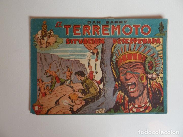 Tebeos: Dan Barry el terremoto, colección completa, suelta, 76 ejemplares de José Ortiz, Maga 1954. - Foto 29 - 277152988
