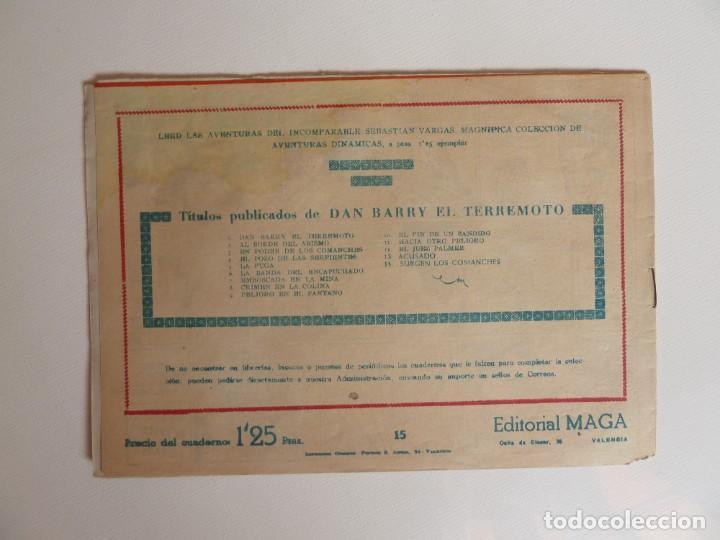 Tebeos: Dan Barry el terremoto, colección completa, suelta, 76 ejemplares de José Ortiz, Maga 1954. - Foto 30 - 277152988