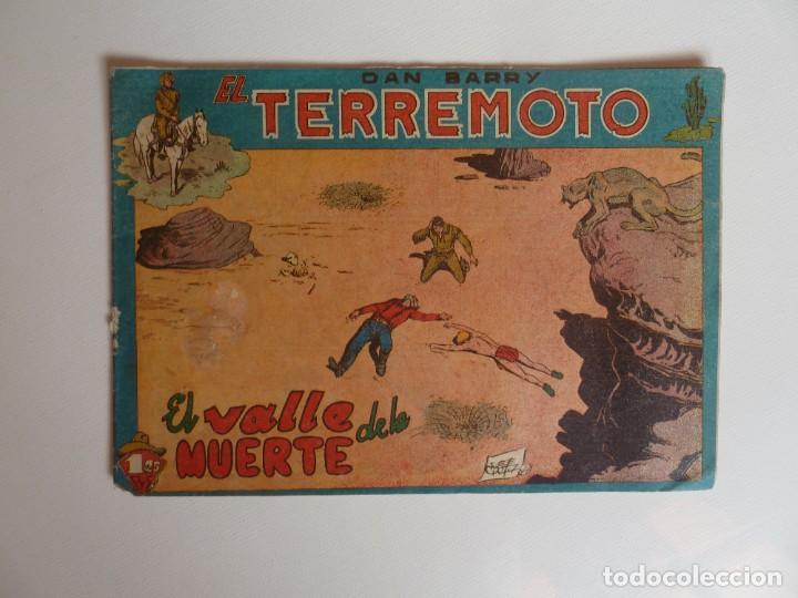 Tebeos: Dan Barry el terremoto, colección completa, suelta, 76 ejemplares de José Ortiz, Maga 1954. - Foto 31 - 277152988