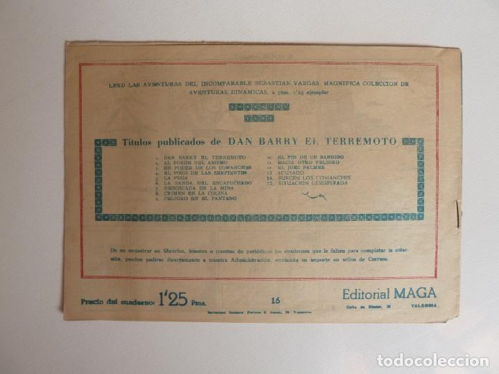 Tebeos: Dan Barry el terremoto, colección completa, suelta, 76 ejemplares de José Ortiz, Maga 1954. - Foto 32 - 277152988