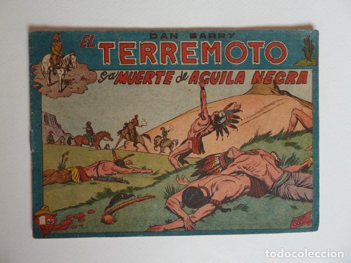 Tebeos: Dan Barry el terremoto, colección completa, suelta, 76 ejemplares de José Ortiz, Maga 1954. - Foto 33 - 277152988