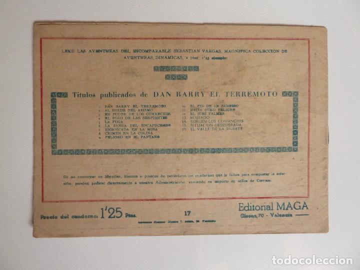 Tebeos: Dan Barry el terremoto, colección completa, suelta, 76 ejemplares de José Ortiz, Maga 1954. - Foto 34 - 277152988
