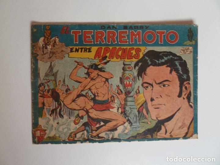 Tebeos: Dan Barry el terremoto, colección completa, suelta, 76 ejemplares de José Ortiz, Maga 1954. - Foto 35 - 277152988