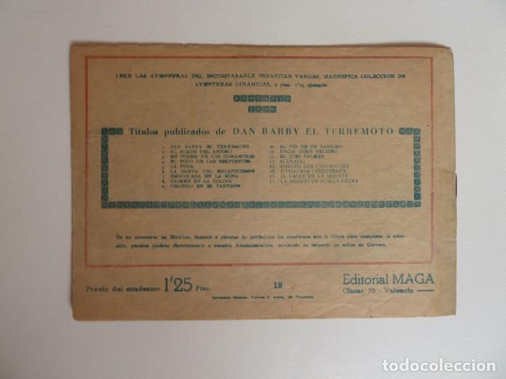 Tebeos: Dan Barry el terremoto, colección completa, suelta, 76 ejemplares de José Ortiz, Maga 1954. - Foto 36 - 277152988