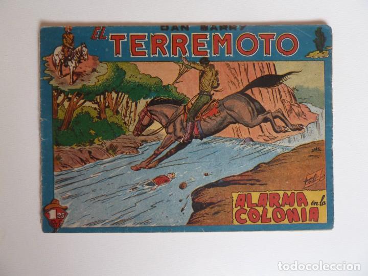 Tebeos: Dan Barry el terremoto, colección completa, suelta, 76 ejemplares de José Ortiz, Maga 1954. - Foto 37 - 277152988