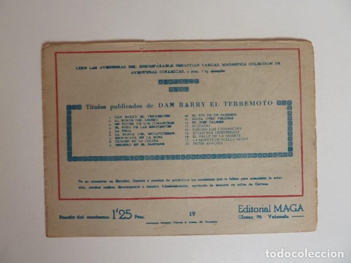 Tebeos: Dan Barry el terremoto, colección completa, suelta, 76 ejemplares de José Ortiz, Maga 1954. - Foto 38 - 277152988