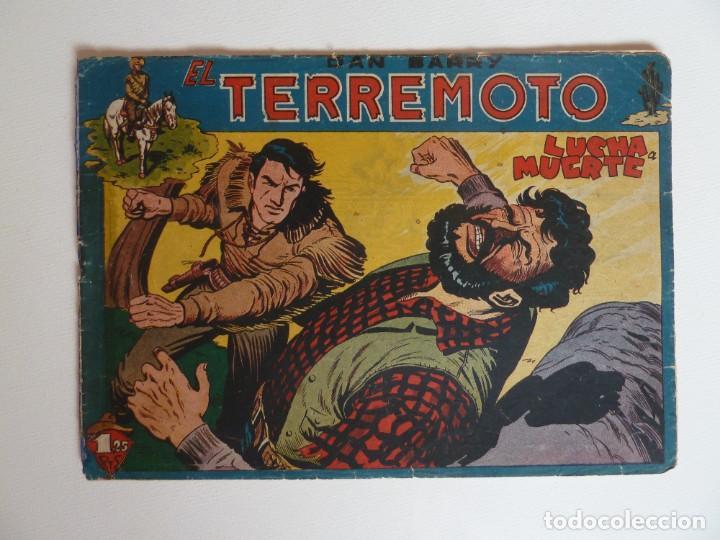 Tebeos: Dan Barry el terremoto, colección completa, suelta, 76 ejemplares de José Ortiz, Maga 1954. - Foto 39 - 277152988
