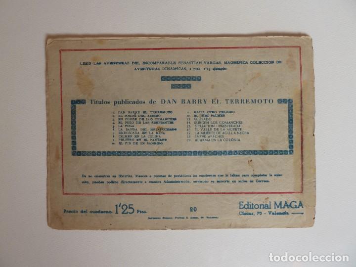 Tebeos: Dan Barry el terremoto, colección completa, suelta, 76 ejemplares de José Ortiz, Maga 1954. - Foto 40 - 277152988