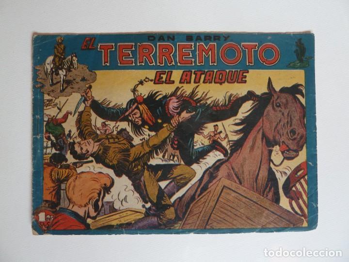 Tebeos: Dan Barry el terremoto, colección completa, suelta, 76 ejemplares de José Ortiz, Maga 1954. - Foto 41 - 277152988