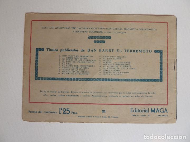 Tebeos: Dan Barry el terremoto, colección completa, suelta, 76 ejemplares de José Ortiz, Maga 1954. - Foto 42 - 277152988
