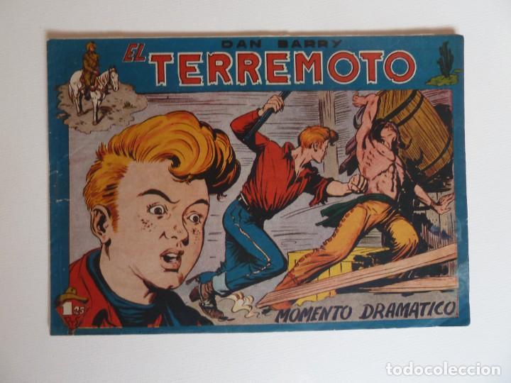 Tebeos: Dan Barry el terremoto, colección completa, suelta, 76 ejemplares de José Ortiz, Maga 1954. - Foto 43 - 277152988