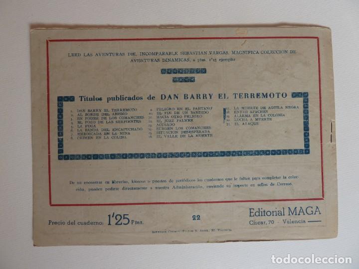 Tebeos: Dan Barry el terremoto, colección completa, suelta, 76 ejemplares de José Ortiz, Maga 1954. - Foto 44 - 277152988
