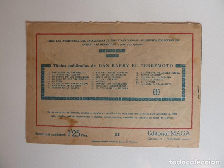 Tebeos: Dan Barry el terremoto, colección completa, suelta, 76 ejemplares de José Ortiz, Maga 1954. - Foto 46 - 277152988