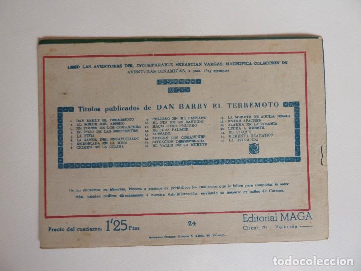 Tebeos: Dan Barry el terremoto, colección completa, suelta, 76 ejemplares de José Ortiz, Maga 1954. - Foto 48 - 277152988