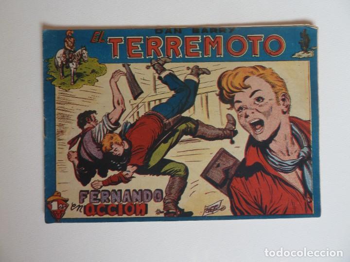 Tebeos: Dan Barry el terremoto, colección completa, suelta, 76 ejemplares de José Ortiz, Maga 1954. - Foto 49 - 277152988