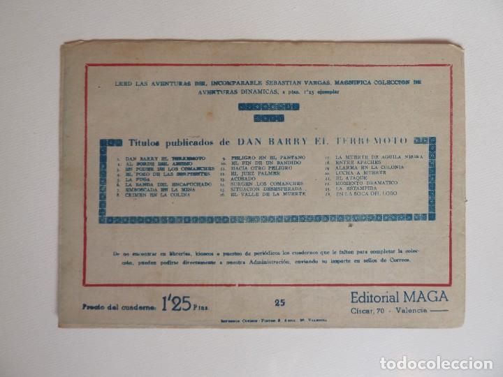 Tebeos: Dan Barry el terremoto, colección completa, suelta, 76 ejemplares de José Ortiz, Maga 1954. - Foto 50 - 277152988