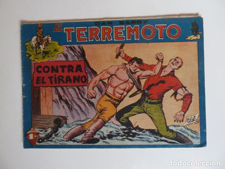 Tebeos: Dan Barry el terremoto, colección completa, suelta, 76 ejemplares de José Ortiz, Maga 1954. - Foto 51 - 277152988