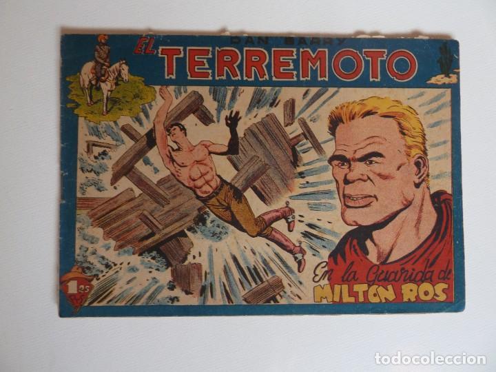 Tebeos: Dan Barry el terremoto, colección completa, suelta, 76 ejemplares de José Ortiz, Maga 1954. - Foto 53 - 277152988