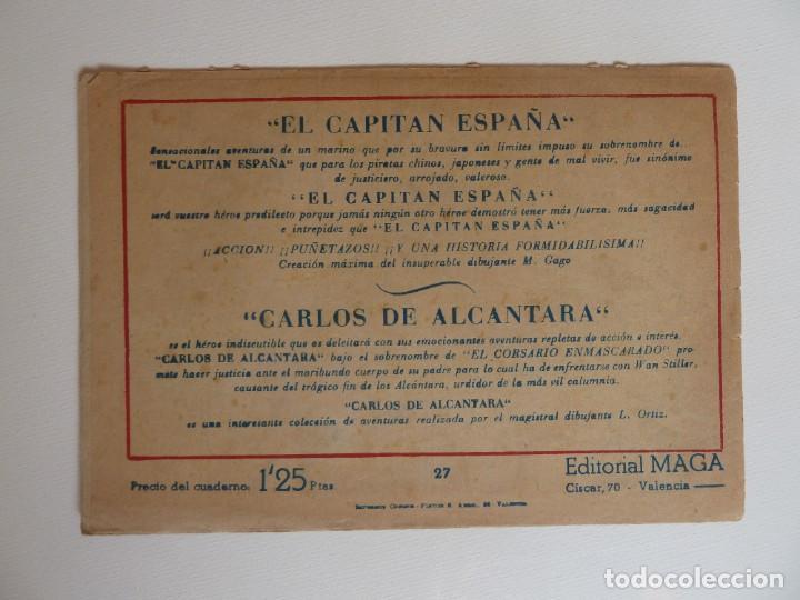 Tebeos: Dan Barry el terremoto, colección completa, suelta, 76 ejemplares de José Ortiz, Maga 1954. - Foto 54 - 277152988
