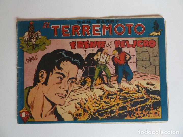 Tebeos: Dan Barry el terremoto, colección completa, suelta, 76 ejemplares de José Ortiz, Maga 1954. - Foto 55 - 277152988