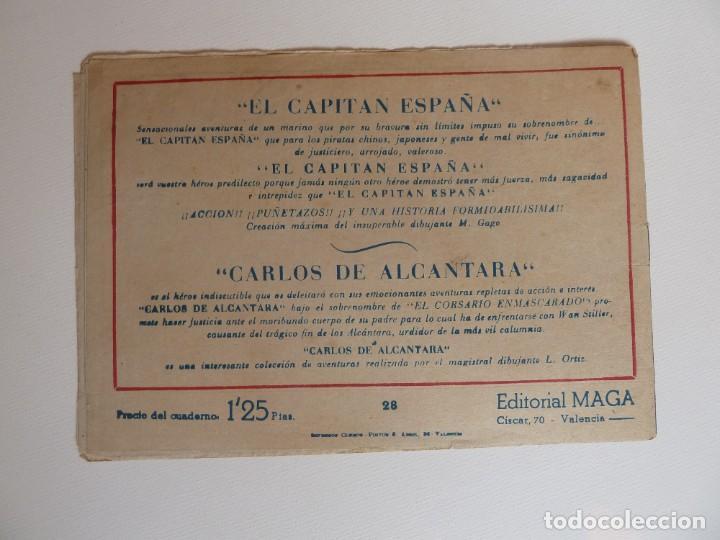 Tebeos: Dan Barry el terremoto, colección completa, suelta, 76 ejemplares de José Ortiz, Maga 1954. - Foto 56 - 277152988