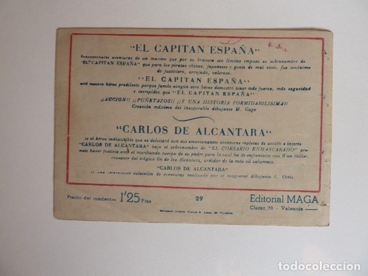 Tebeos: Dan Barry el terremoto, colección completa, suelta, 76 ejemplares de José Ortiz, Maga 1954. - Foto 58 - 277152988