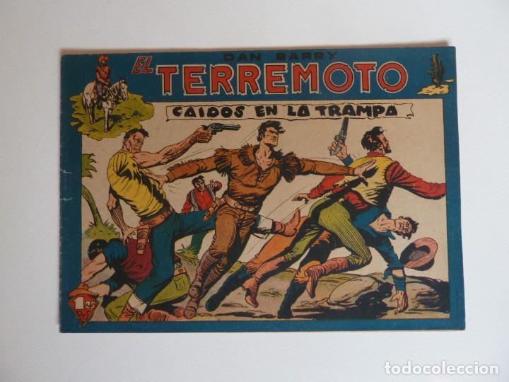 Tebeos: Dan Barry el terremoto, colección completa, suelta, 76 ejemplares de José Ortiz, Maga 1954. - Foto 59 - 277152988