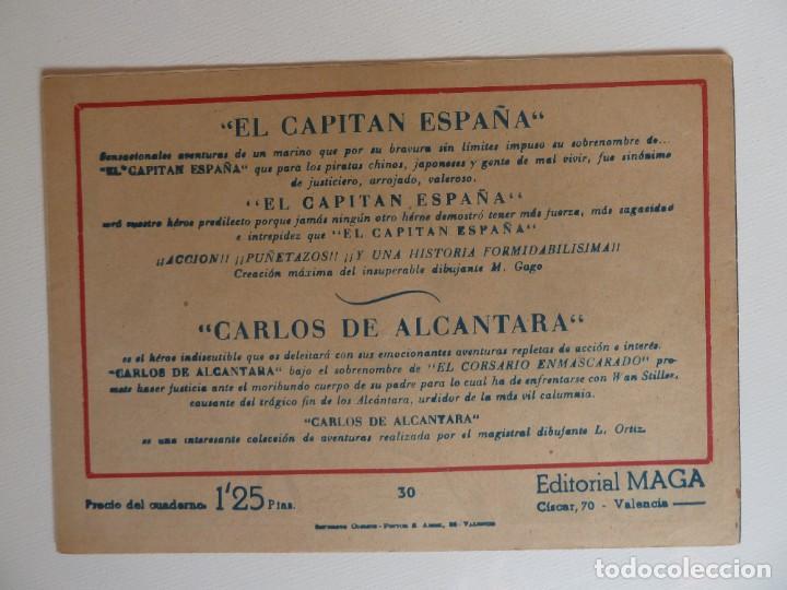 Tebeos: Dan Barry el terremoto, colección completa, suelta, 76 ejemplares de José Ortiz, Maga 1954. - Foto 60 - 277152988