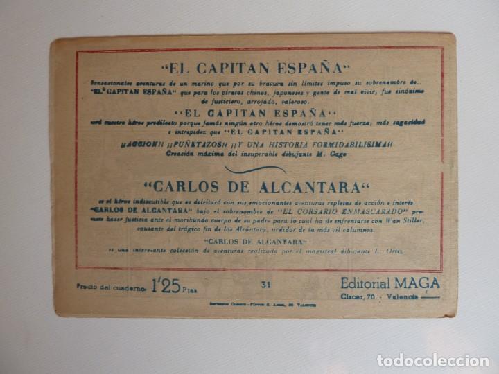 Tebeos: Dan Barry el terremoto, colección completa, suelta, 76 ejemplares de José Ortiz, Maga 1954. - Foto 62 - 277152988