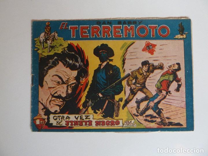 Tebeos: Dan Barry el terremoto, colección completa, suelta, 76 ejemplares de José Ortiz, Maga 1954. - Foto 63 - 277152988