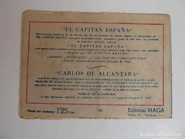 Tebeos: Dan Barry el terremoto, colección completa, suelta, 76 ejemplares de José Ortiz, Maga 1954. - Foto 64 - 277152988