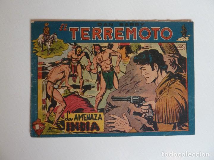 Tebeos: Dan Barry el terremoto, colección completa, suelta, 76 ejemplares de José Ortiz, Maga 1954. - Foto 65 - 277152988