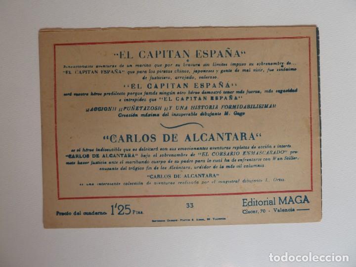 Tebeos: Dan Barry el terremoto, colección completa, suelta, 76 ejemplares de José Ortiz, Maga 1954. - Foto 66 - 277152988
